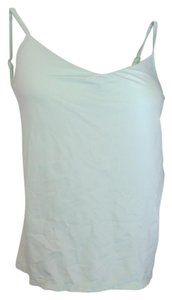 New York & Company Adjustable Straps Bodyshaper Top Pale Green