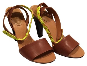 See by Chloé Brown/yellow Sandals