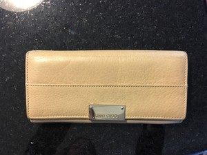 Jimmy Choo Nude/ Taupe Clutch