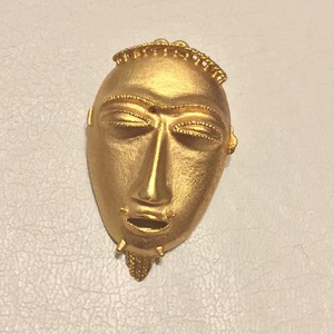 Smithsonian Institute Smithsonian Institute Instution Gold Plated African Mask Collection