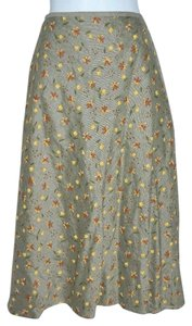 JAX Country A-line Boho Hippie Peasant Style Skirt Multi-Color