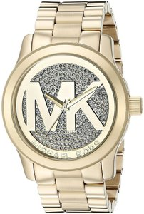Michael Kors Michael Kors Women's Runway Gold-Tone Stainless Steel Watch MK5706