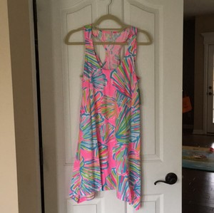 Lilly Pulitzer short dress Pink Pout Shellabrate on Tradesy