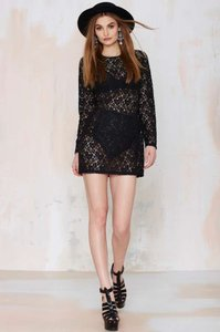 Nasty Gal Lace Dress