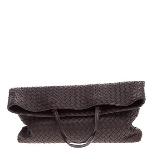 Bottega Veneta Fold Over Nappa Tote