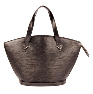 Louis Vuitton Face Saint Jacques Epi Canvas Tote in Black