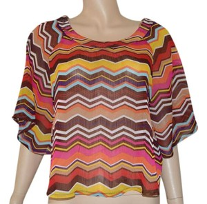 About A Girl Polyester Top Multi-color