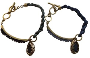 Anthropologie Two Toggle Bracelets