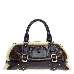 Louis Vuitton Limited Edition Shearling Leather Satchel