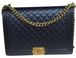 Chanel Boy Flap Lambskin Shoulder Bag