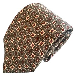 Fendi Fendi Men's Tie in Fall Colors - Italian Paisley Pattern