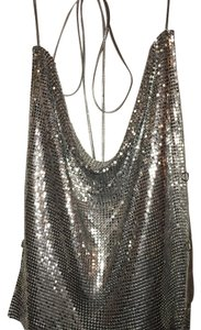 Western Fashion Top Silver