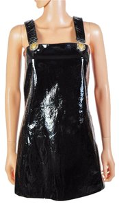 Versus Versace Patent Leather Dress