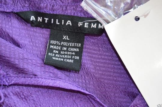 high-quality Antilia Femme Purple None Top