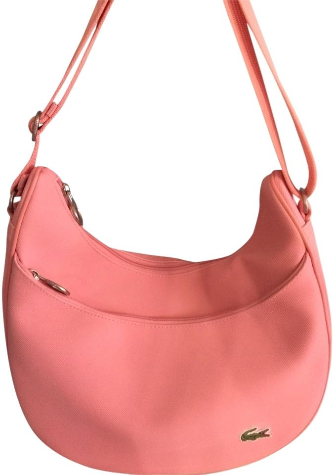 Lacoste New Classic Candy Pink Rubber Shoulder Bag - Tradesy b5d8831ec6afc