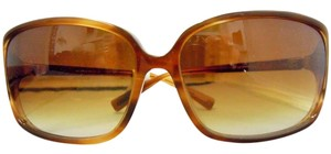 Oliver Peoples OP BACALL SYC Light Brown Frame Gradient Brown Lenses Made Japan