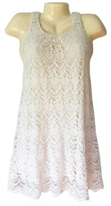 Millau short dress Cream on Tradesy