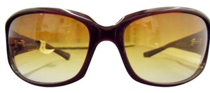 Oliver Peoples OP KALI SI Large Round Wrap Sun w/Amber Bronze Gradient Lens