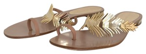 Luis onofre Gold Sandals