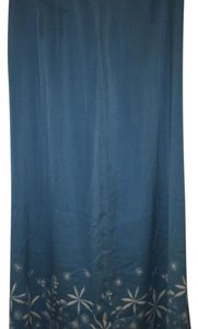 Anne Klein Maxi Skirt Blue
