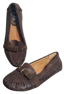 Ariat Comfortable Leather Moccasin Loafer Brown Flats