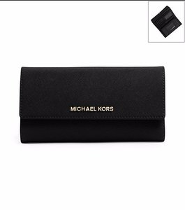 Michael Kors Michael Kors Jet Set Checkbook Wallet Large wallet (with a pen)