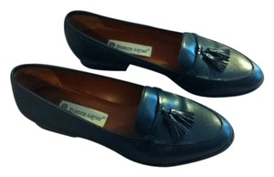 Etienne Aigner Ally Navy Blue Flats