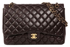 Chanel Maxi Classic Quilted Ch.k0921.10 Ghw Shoulder Bag