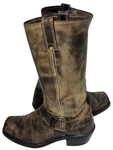 Frye 77300 Harness Brown Boots