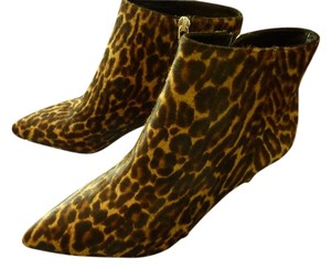 Prada Fur Boot Italian Animal Print Boots