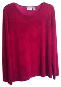 Chico's T Shirt Cranberry