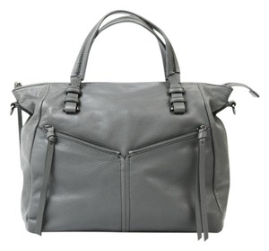 Kooba Leather Satchel in Gray