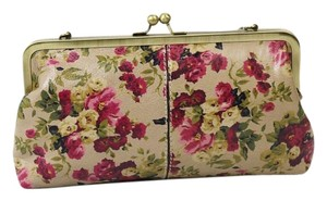 Patricia Nash Designs Crossbody Floral Chain Gold Clutch