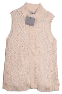 Marc New York Sherpa Cream Fur Fuzzy Vest
