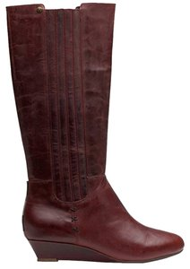 Reef Wedge Boot Burgundy Boots