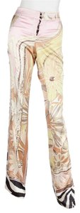 Roberto Cavalli Flare Pants Multi Color