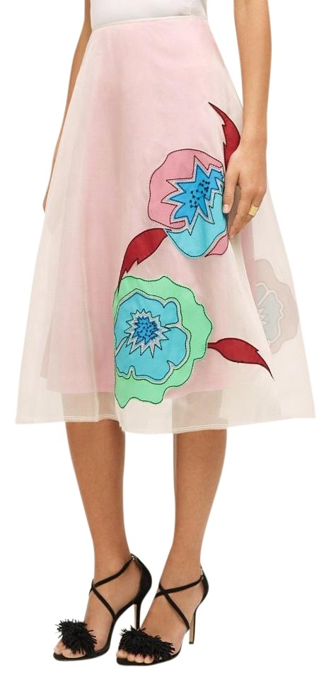 0eee9a2d0 Anthropologie Pink Casablanca Silk Plenty By Tracy Reese Skirt. Size: 6 ...