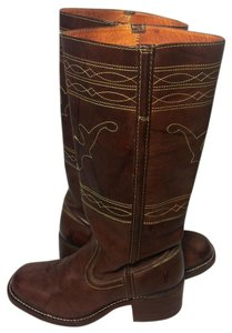 Frye 77370 Campus Brown Boots