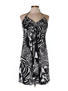 BCX short dress Black and White Macys Large on Tradesy