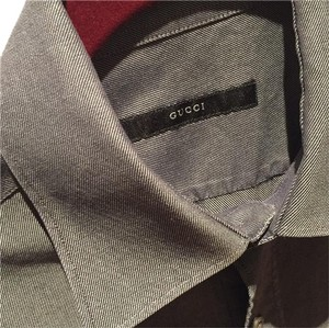 Gucci Button Down Shirt Grey
