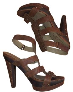 Rachel Roy Brown Sandals