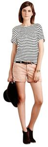 Anthropologie Chino Pilcro Cuffed Shorts Peach