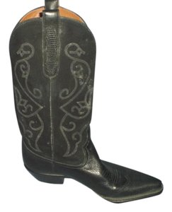 Nine West Womens Leather Designer black Boots