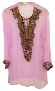 Jasmine Beaded Caftan Indian Tunic
