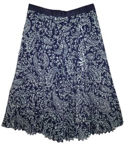Anthropologie Accordion Pleated Skirt