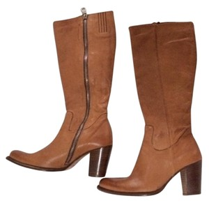 Paul Green Leather Camel/brown Boots