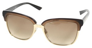 Gucci Gucci Brown and gold Women's Sunglasses