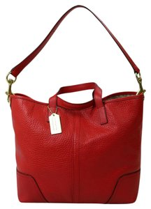 Coach Hadley Duffle Tote in Red