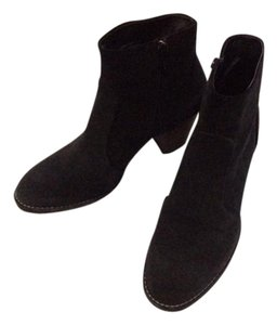 Paul Green Suede Black Boots