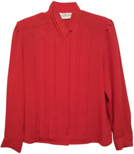 Yves St. Clair Top Red